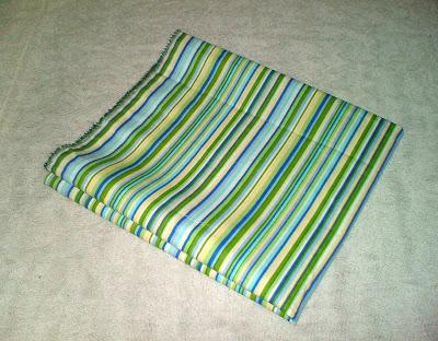 fabric used to make toilet tank skirt