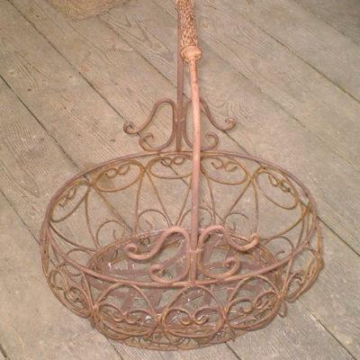 Decorative Iron Planter Makeover