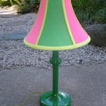 Lamp Makeover using Highlighter Markers