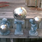 Easy Garden Angel Statue Makeover