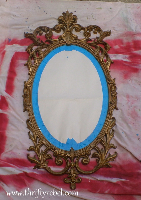 pink-and-pearls-mirror-makeover