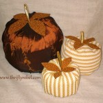 Easy DIY Fabric Pumpkins