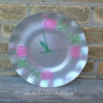 Upcycled Lazy Susan Tray into Clock