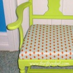 Minty Fresh Armchair Makeover