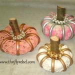 Shower Curtain Ring Pumpkins