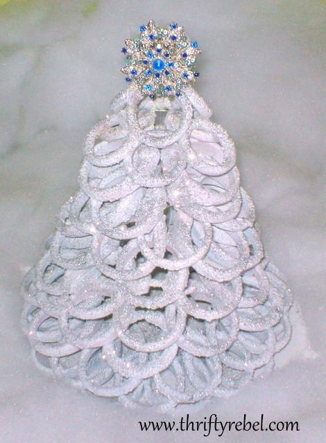 Shower Curtain Ring Christmas Tree