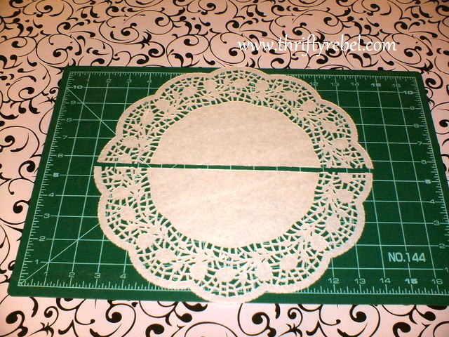 Paper Doily Decorative Border