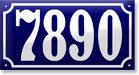 RAMSIGN Giveaway!! Porcelain Enamel House Number Sign!!