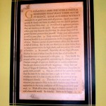 Desiderata in a Placemat Frame