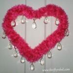 Hot Pink Valentine's Day Wreath