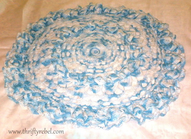 Painted Doily Wall Art