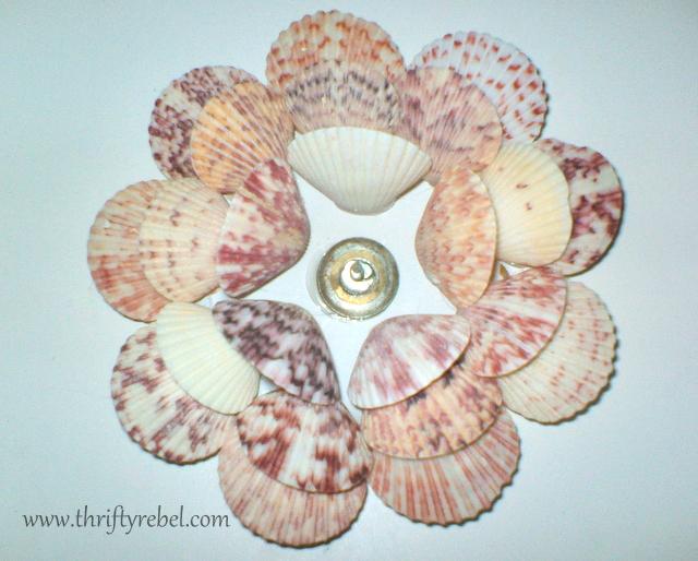 Seashell Candle Holders