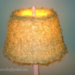 $3 Lamp and Lamp Shade Makeover