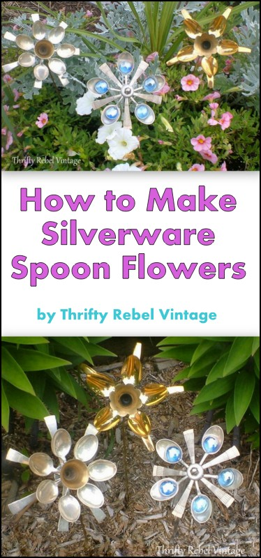 How to make silverware spoon flowers