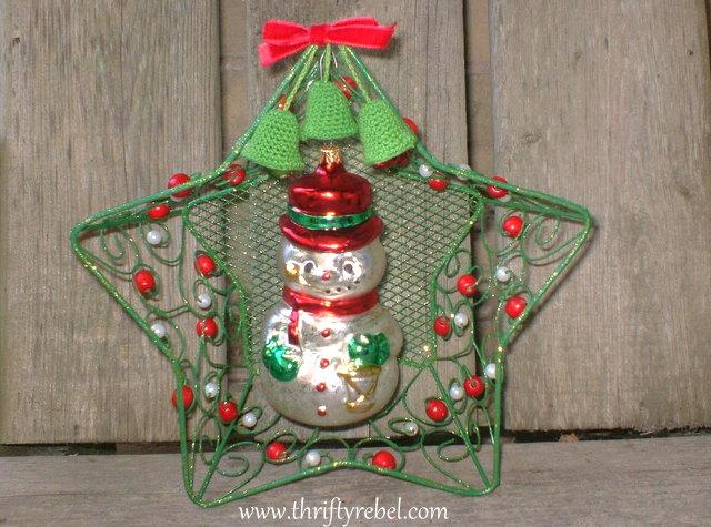 Framing a Christman Ornament