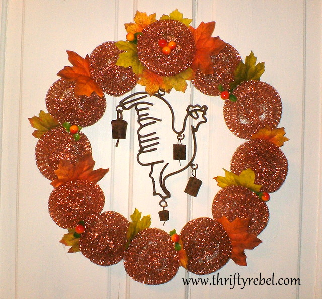 copper-scouring-pad-wreath
