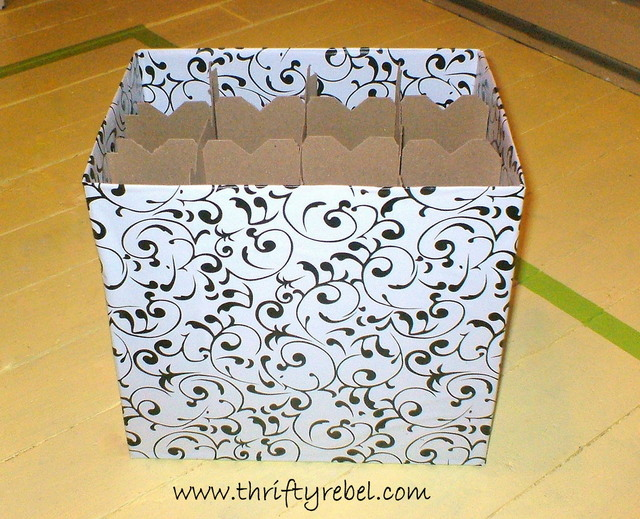Cardboard Boxes Makeover