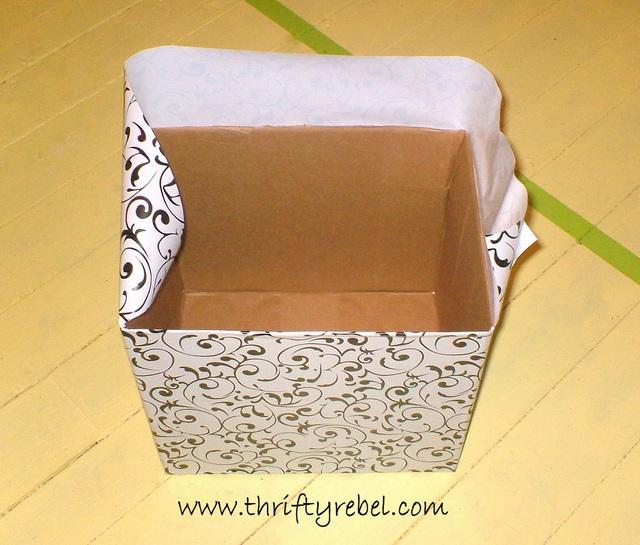 Cardboard Boxes Makeover
