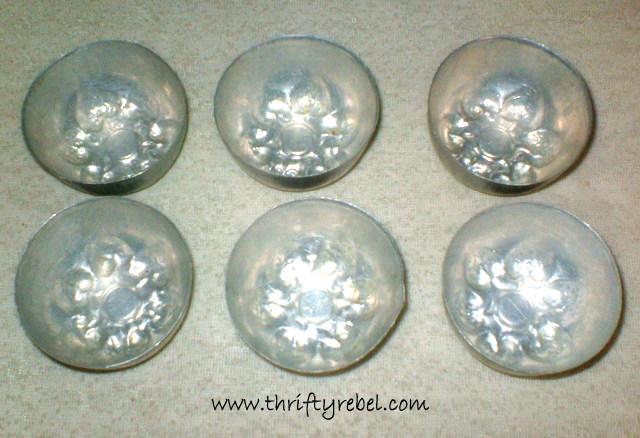 Tart Tin and Jello Mold Christmas Ornaments