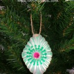 Jello Mold & Tart Tin Christmas Ornaments