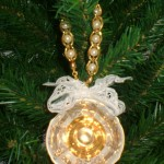 Vintage Repurposed Teacup Ornament