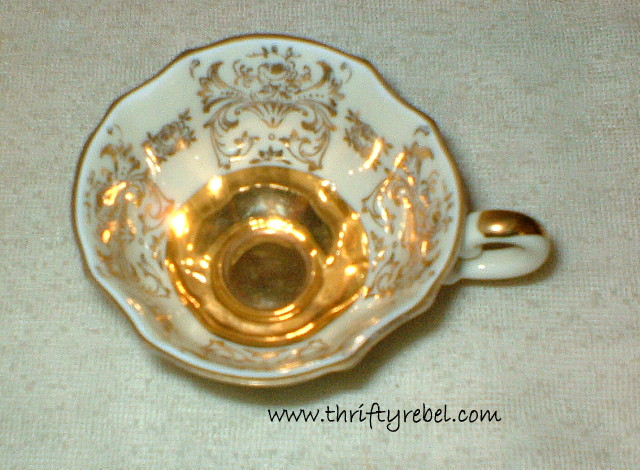 How to Make a Teacup Ornament