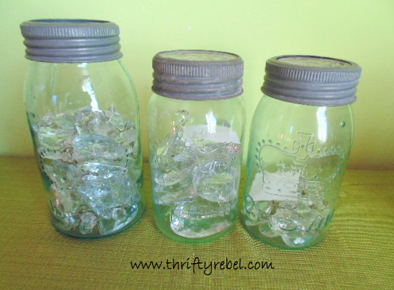 Crown Mason Jars