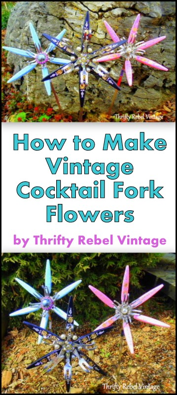 How to make cocktail fork flowers