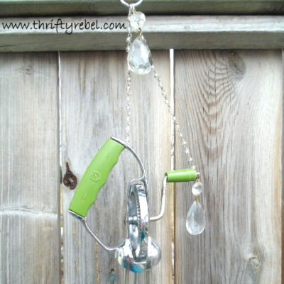 Vintage Egg Beater Wind Chimes