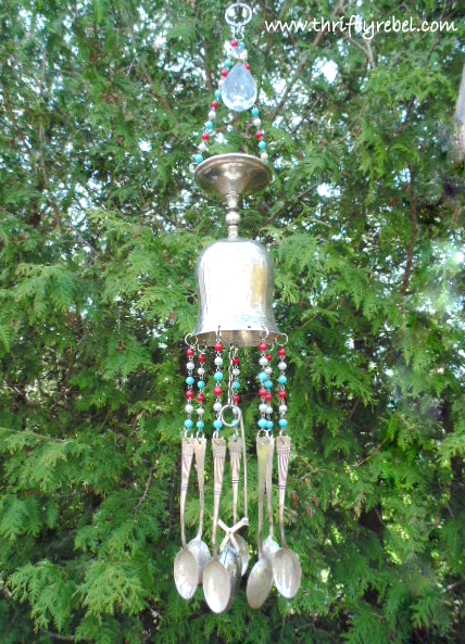 Silver Goblet Wind Chimes