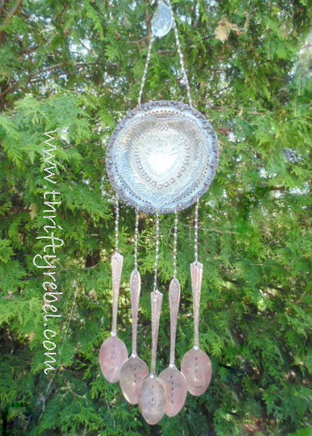 Vintage Silverware Wind Chimes