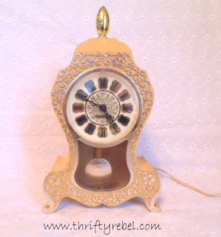 Vintage Westclox Pendulum Clock