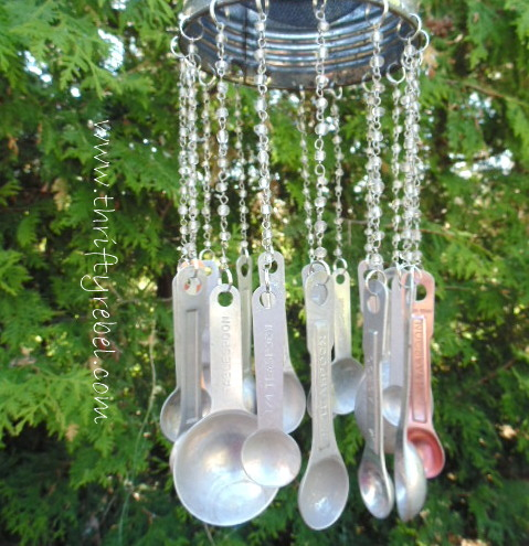 Vintage Sifter Wind Chimes
