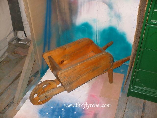 distressed-wheelbarrow-planter