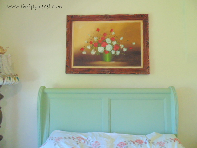 How to Update an Old Framed Painting