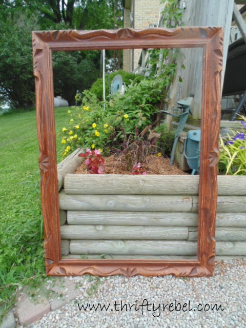 Mirror and Frame Makeover