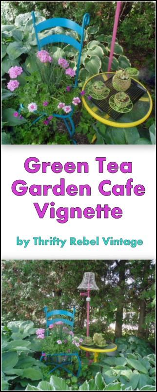 Garden cafe vignette