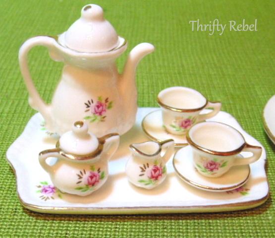 Miniature Roses China Tea Sets