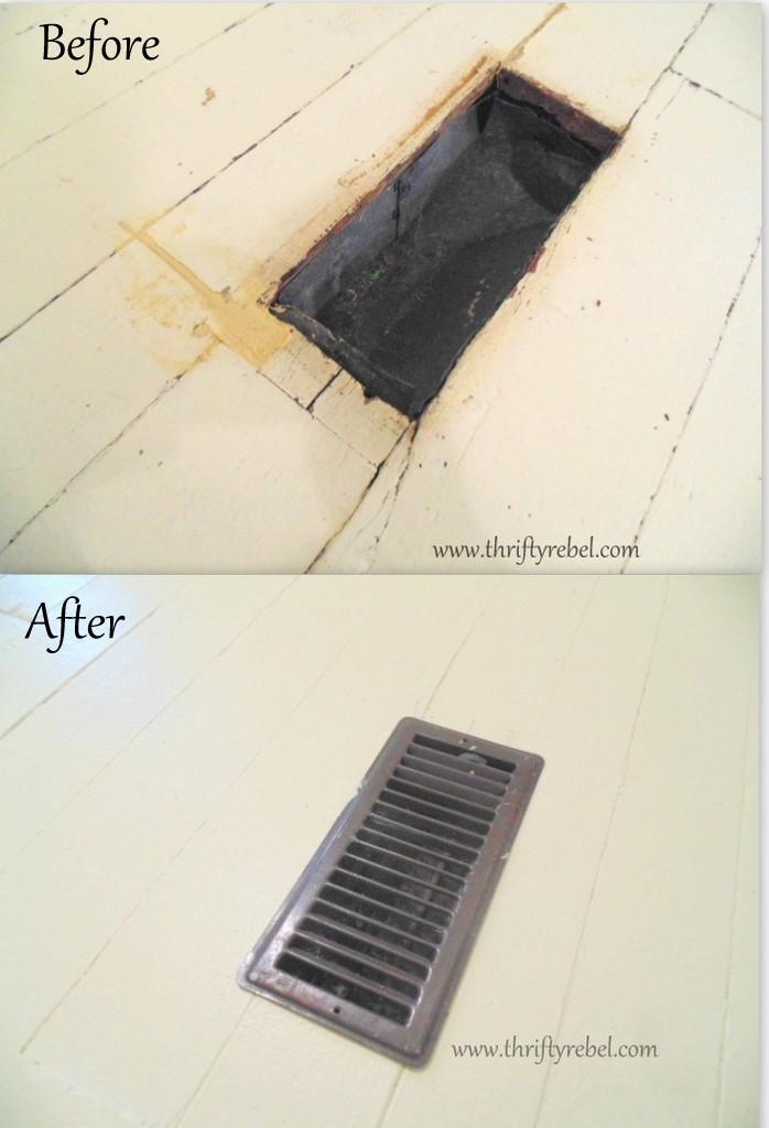 How to Paint Wood Floor