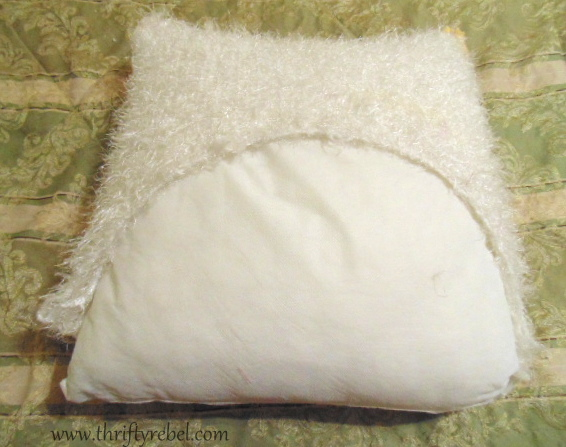 DIY Chenille Pillow