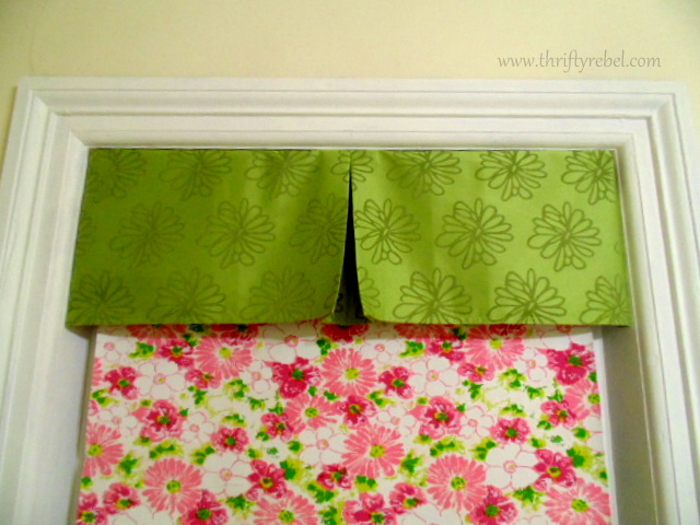 No Sew Window Valance