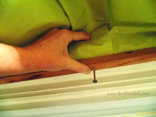 No Sew Window Valance
