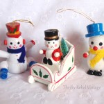 A Vintage Cast of Ornament Characters