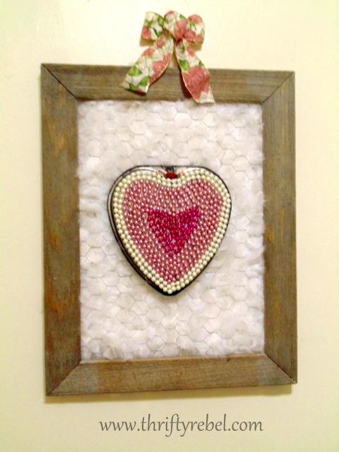 Heart Baking Pan Wreath