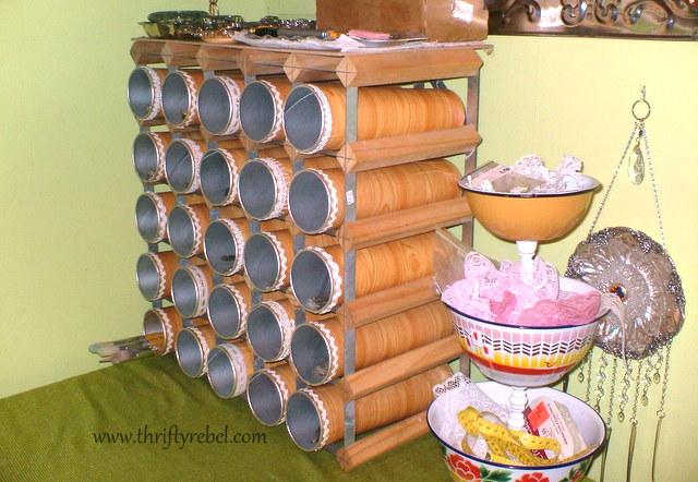 Wine Rack Craft Room Storage