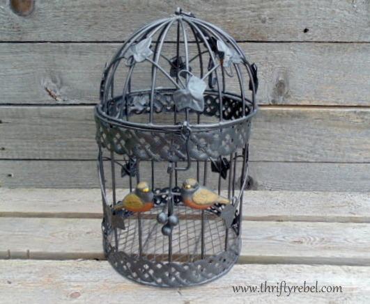 Birdcage Makeover