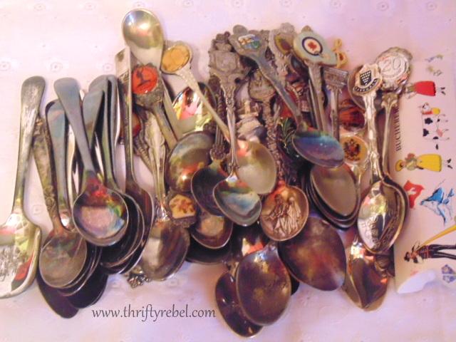 silver souvenir spoons