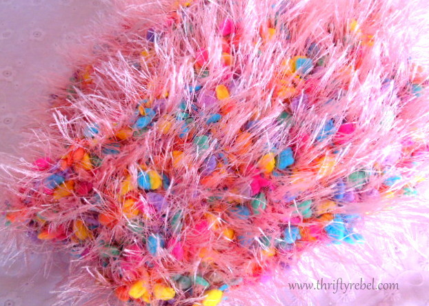 Scarf Easter Wreath