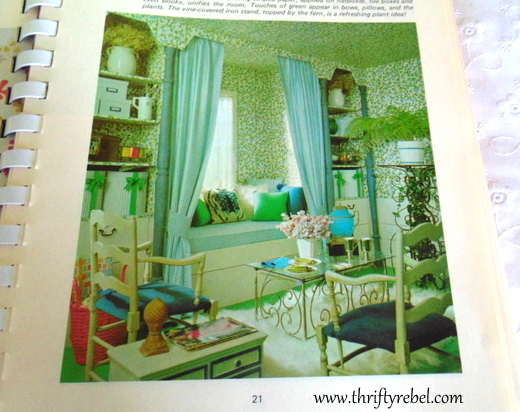 Vintage Home Decorating Book