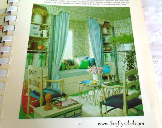Vintage Home Decorating Book